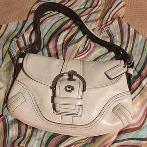 Coach Soho Shoulder Flap Buckle Bag